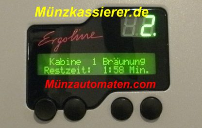 Ergoline MCS IV PlUS Münzautomat.com Münzkassierer.de JK Solarium
