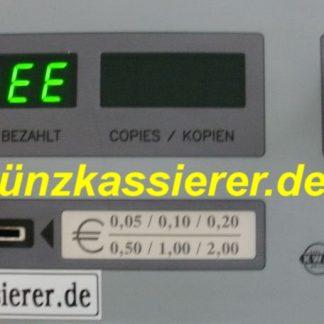 Münzkassierer Kopierer Münzkopierer COPY MASTER CM2060 MÜNZKASSIERER.DE MÜNZER