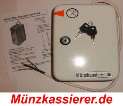 Münzkassierer.de Münzkassierer Münzgerät f. KFZ Hebebühne SAUNA 1€ Einwurf 1