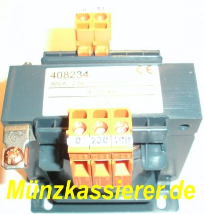 TRAFO Transformator Netzteil 250-400 VAC 24VAC 60VA Kleinspannung 3
