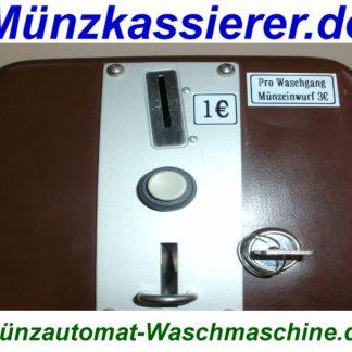 Gepflegter Münzkassierer Münzzeitzähler Waschmaschine Münzkassierer.de (4)