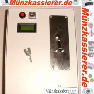 ❌ TOP ❌ Münzkassierer NZR Münzautomat 1Euro Einwurf mit Türöffner-Münzkassierer.de-0