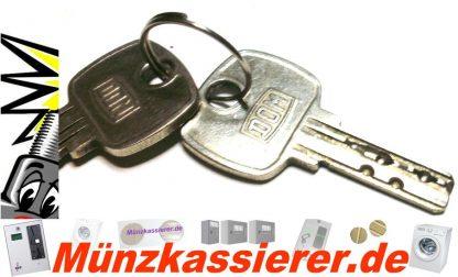 4 x Schloss GLEICHSCHLIESSEND Schlossanlage Kasse BECKMANN EMS 335-Münzkassierer.de-1
