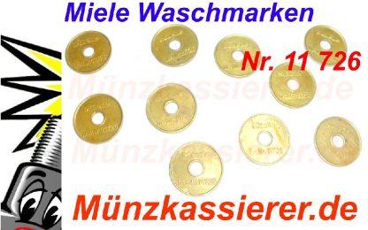 10 x Orig. MIELE 11726 WERTMARKEN Münzkassierer-Münzkassierer.de-6