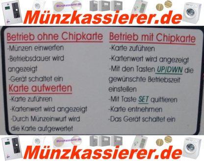4 Stück Münzkassierer f. Waschmaschine incl. Kundenkarten-Münzkassierer.de-0