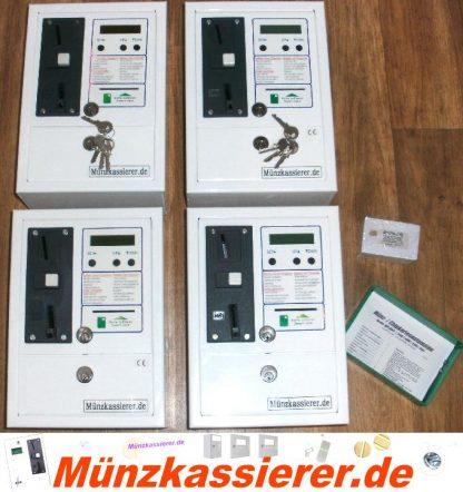 4 Stück Münzkassierer f. Waschmaschine incl. Kundenkarten-Münzkassierer.de-12