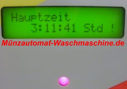 Münzautomat Waschmaschine mit Türentriegelung