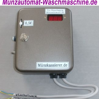 TOP Münzautomat Wäschetrockner 50Cent Einwurf